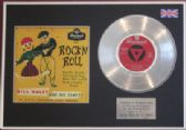 "BILL HALEY - 7"" Platinum Disc EP + cover - ROCK 'N ROLL"